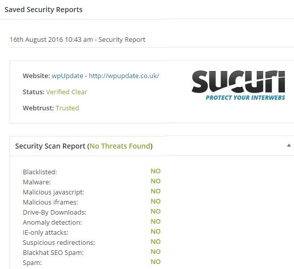 wpUpdate | Sucuri Scan Results