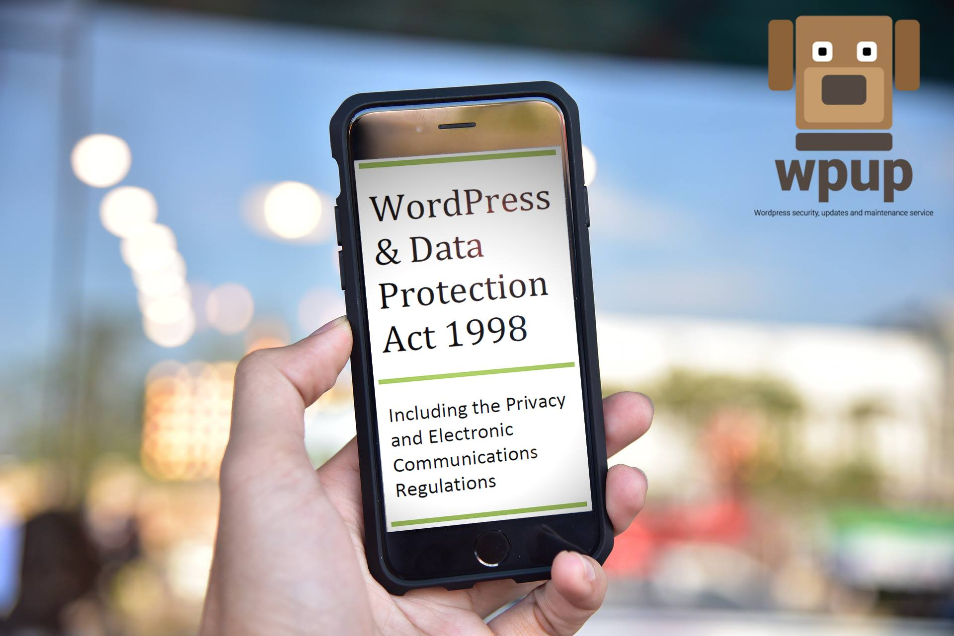 WordPress and the Data Protection Act